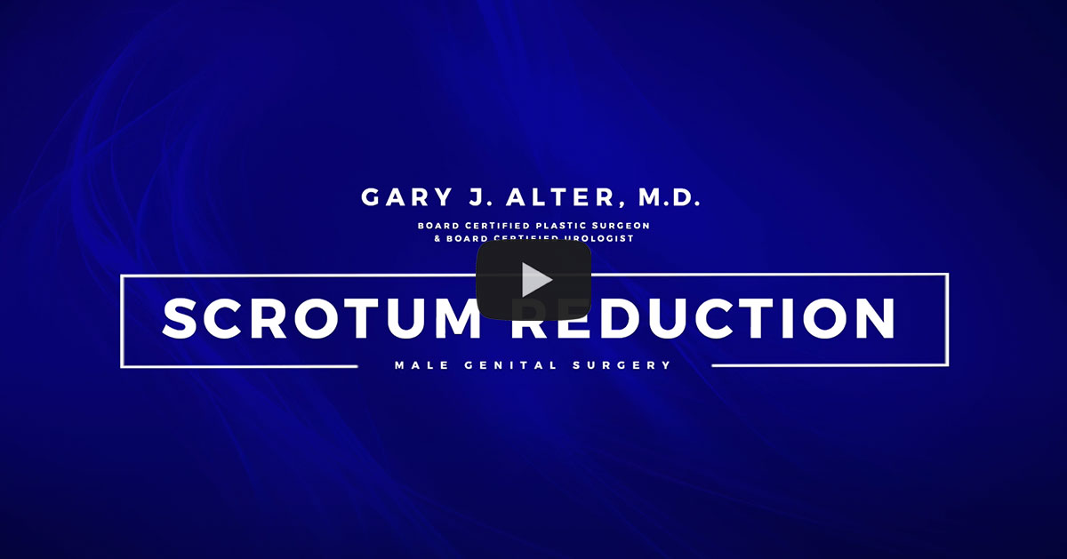 Scrotum Reduction Video Placeholder